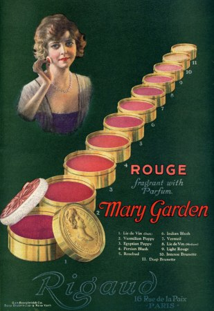 1920-Mary-Garden-rouge