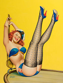 Flirt, Pulp Cover, 1953 - Wikipedia